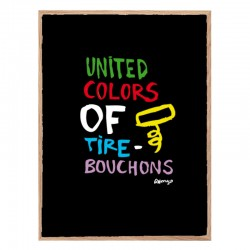United colors of tire-bouchon